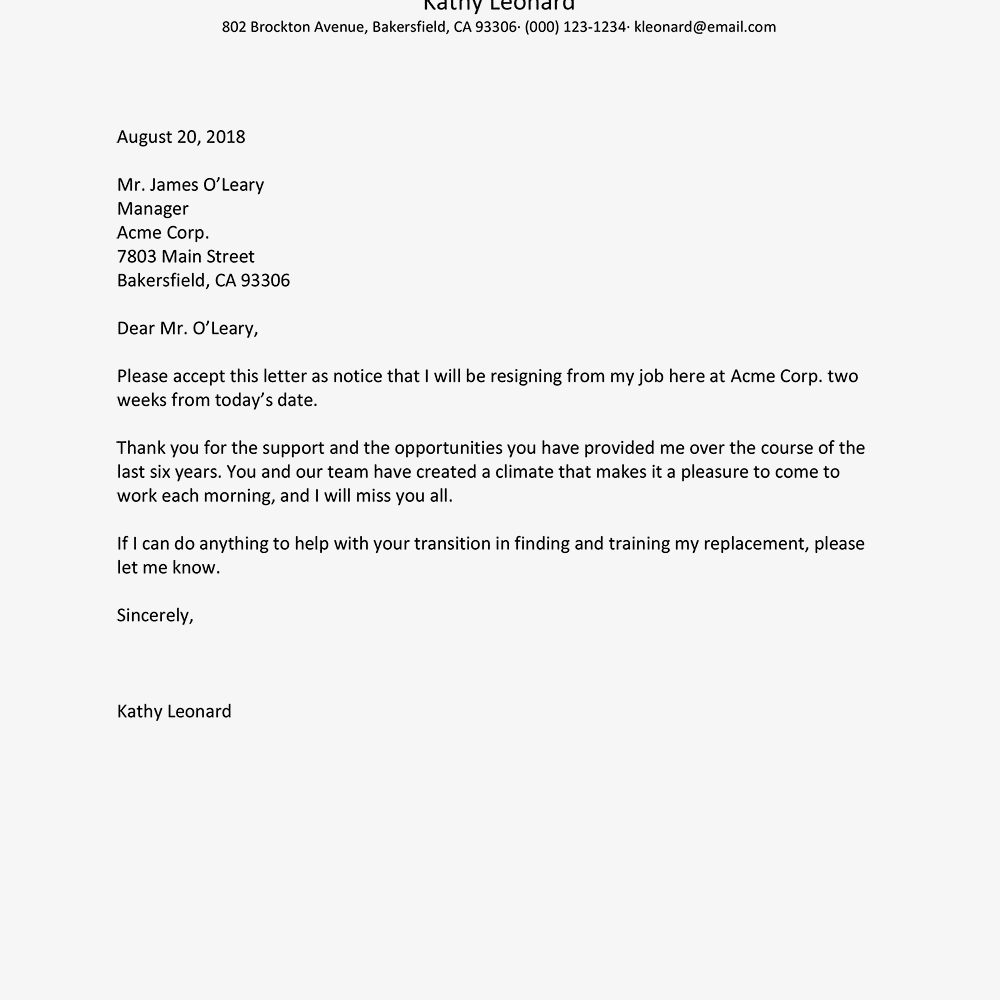 Presentation Letter For A Company from hscprojects.com