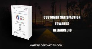 , Customer Satisfaction Towards Reliance Jio, HSC Projects, HSC Projects