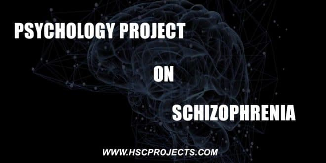 psychology Project Class 12, Psychology Project Class 12 CBSE – Schizophrenia, HSC Projects